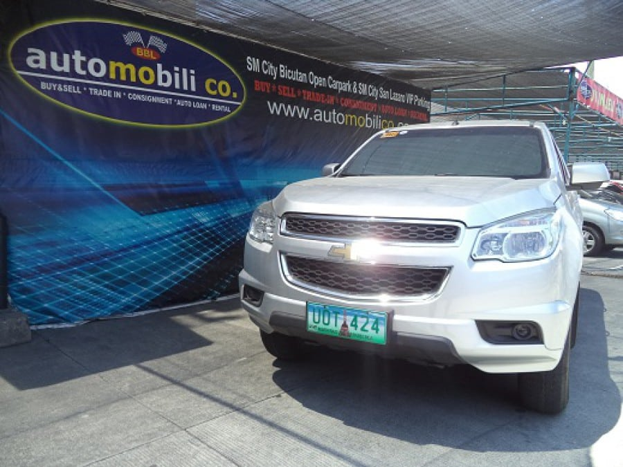 2013 Chevrolet Trailblazer - Front View