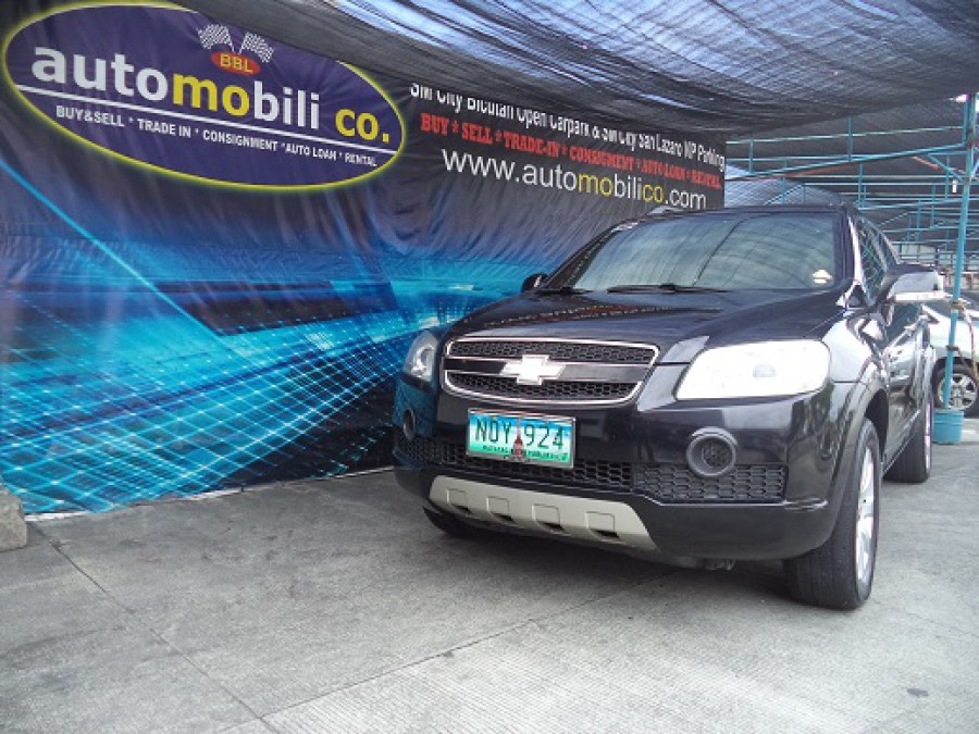 2010 Chevrolet Captiva - Front View