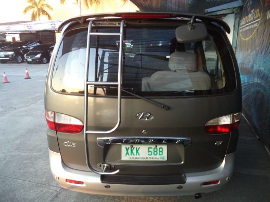 2003 Hyundai Starex - Interior Rear View