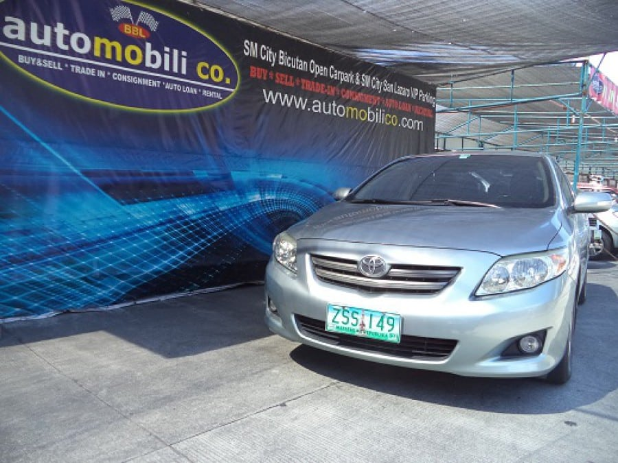 2008 Toyota Altis - Front View