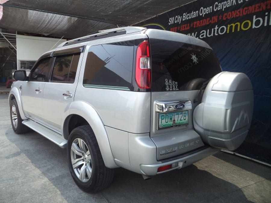 2011 Ford Everest - Interior Rear View