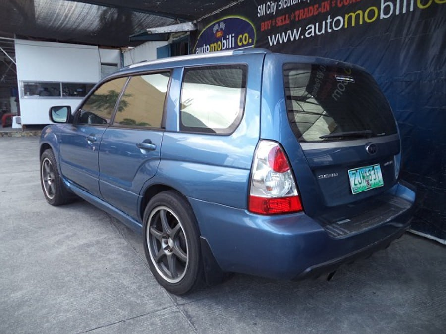 2007 Subaru Forester - Interior Rear View