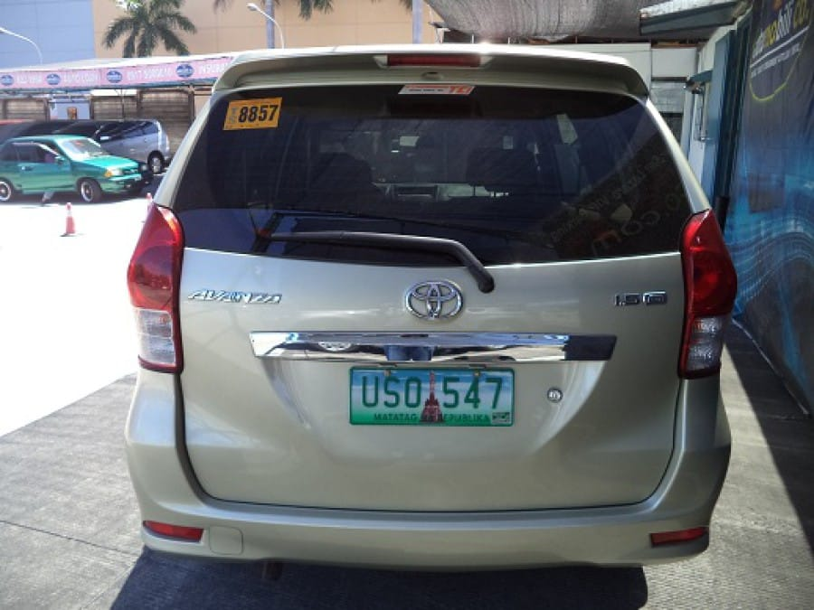 2013 Toyota Avanza - Interior Rear View