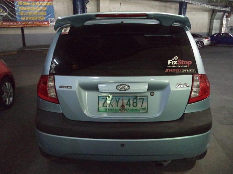 2007 Hyundai Getz - Interior Rear View