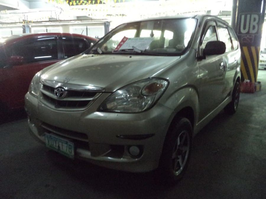 2008 Toyota Avanza - Front View