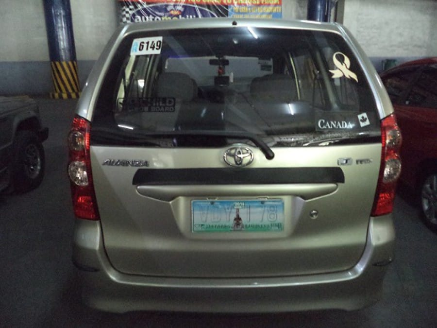2008 Toyota Avanza - Interior Rear View