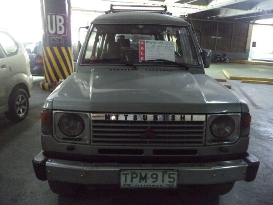 1994 Mitsubishi Pajero - Interior Front View