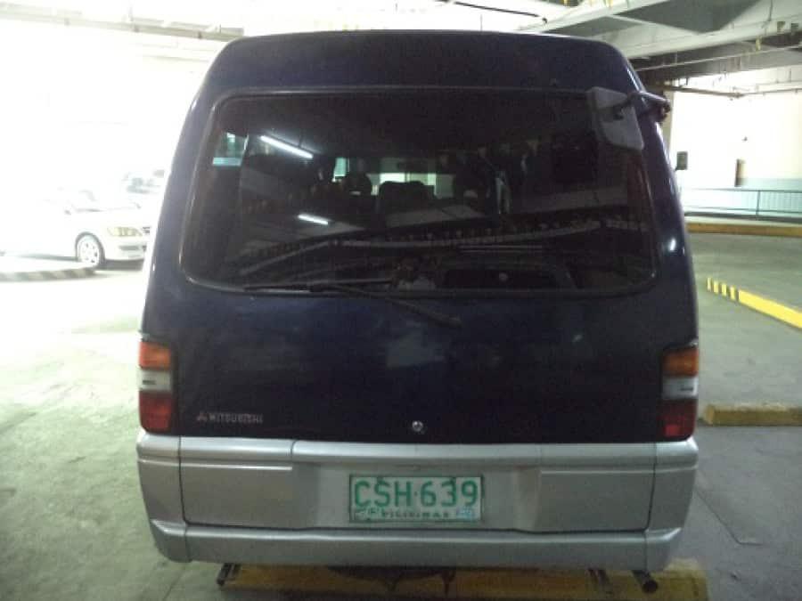 2002 Mitsubishi L300 - Interior Rear View