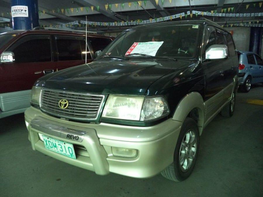 2002 Toyota Revo - Front View