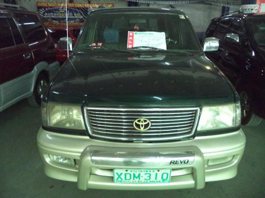 2002 Toyota Revo - Interior Front View