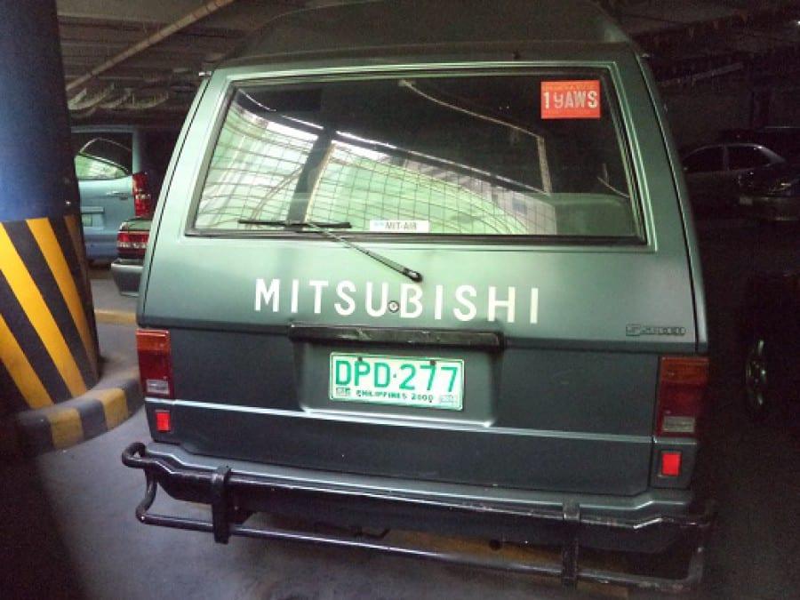 1995 Mitsubishi L300 - Interior Rear View