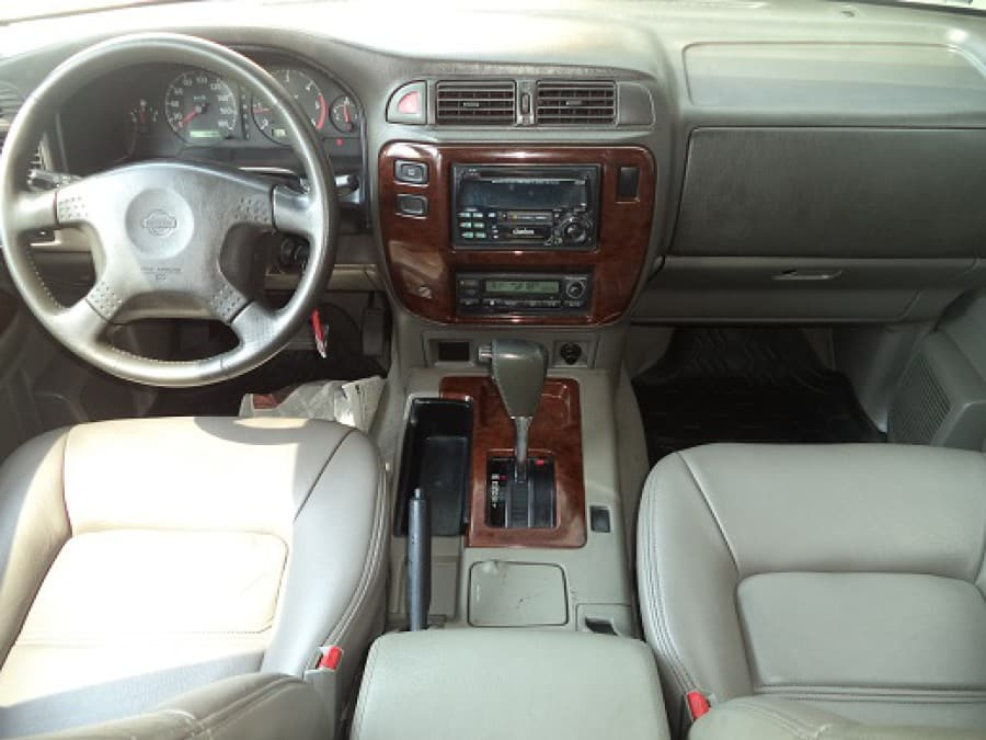 2001 Nissan Patrol - Interior Front View