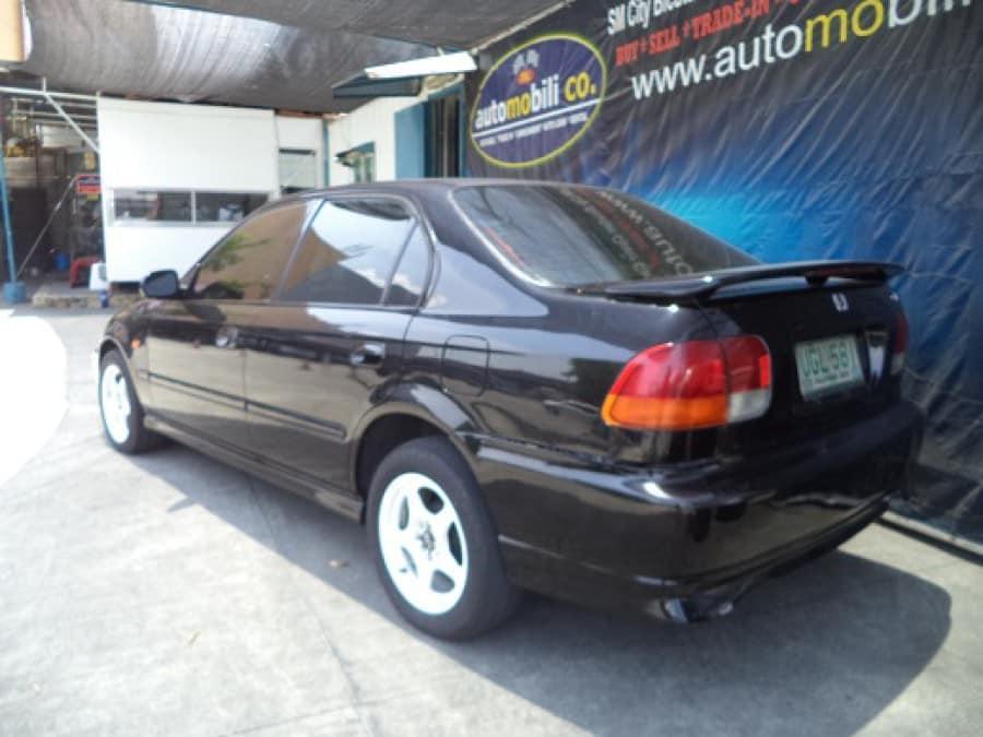 1996 Honda Civic - Interior Rear View