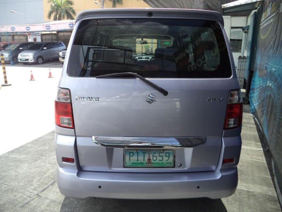 2010 Suzuki APV - Interior Rear View