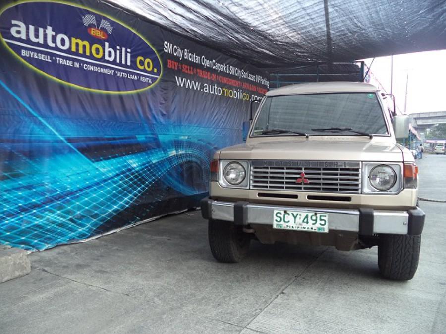 1989 Mitsubishi Pajero - Front View