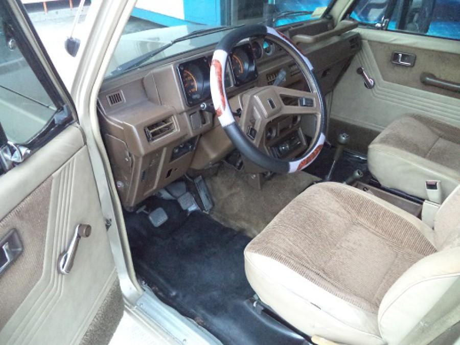 1989 Mitsubishi Pajero - Interior Front View