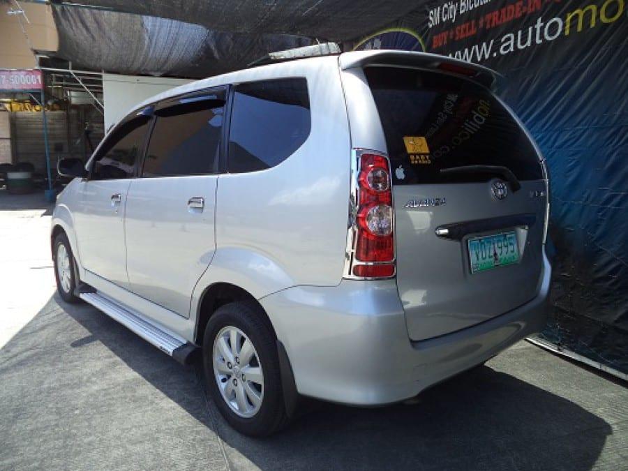 2007 Toyota Avanza - Interior Rear View