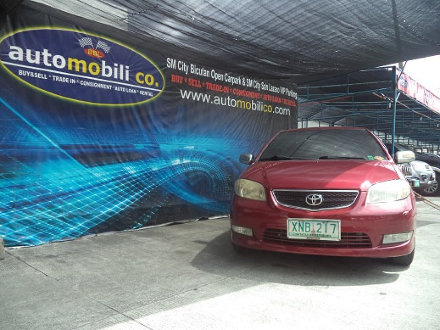 2003 Toyota Vios - Front View