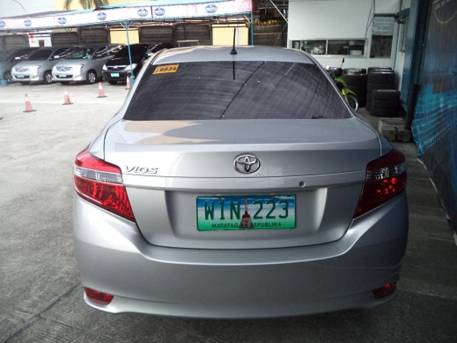 2013 Toyota Vios - Interior Rear View