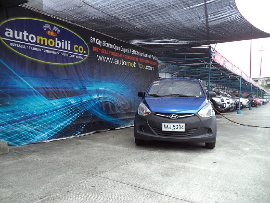 2014 Hyundai Excel - Front View