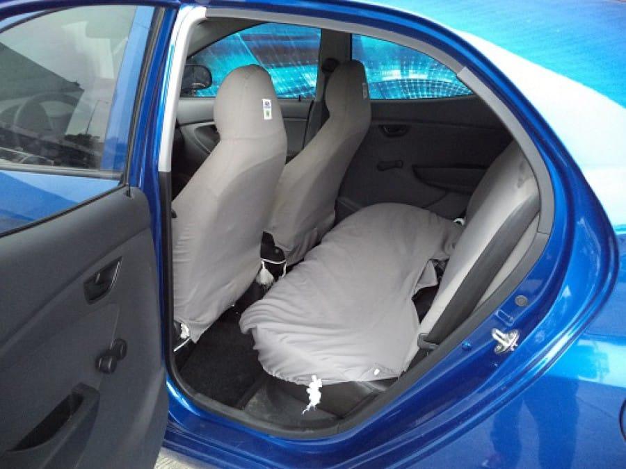 2014 Hyundai Excel - Interior Rear View
