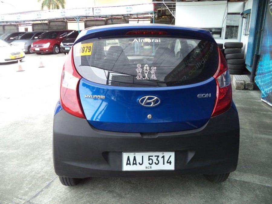 2014 Hyundai Excel - Rear View