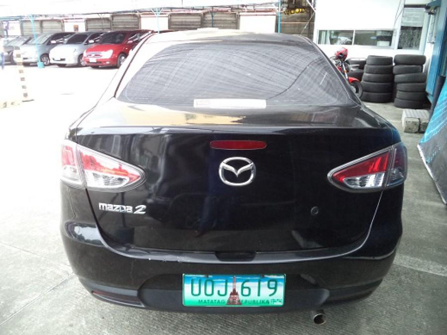 2012 Mazda 2 - Rear View