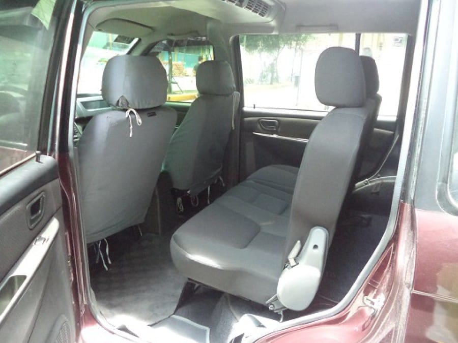 2009 Mitsubishi Adventure - Interior Rear View