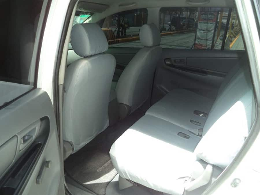 2008 Toyota Innova J - Interior Rear View