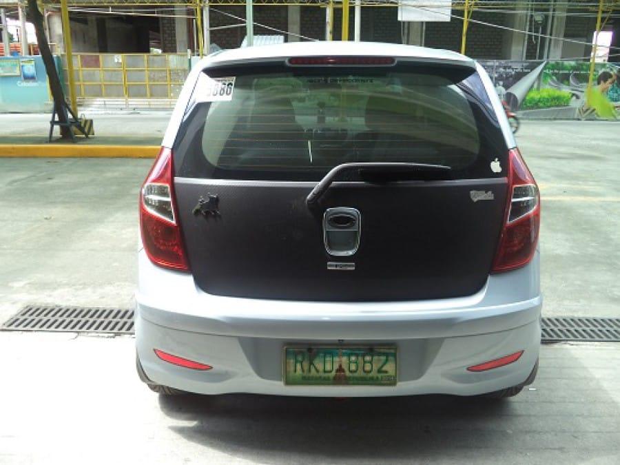 2011 Hyundai Excel - Rear View
