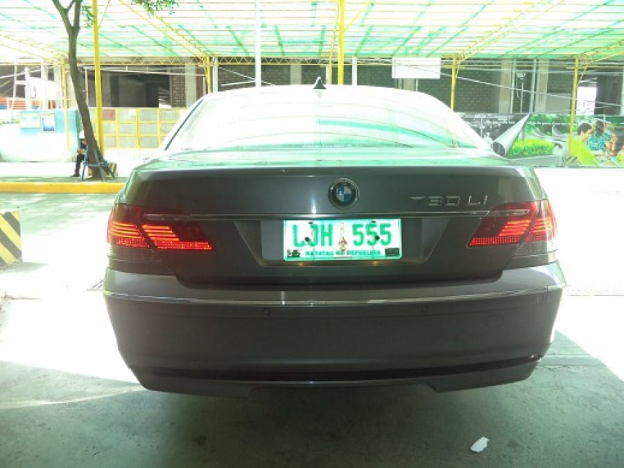 2008 BMW 7 Series - Rear View