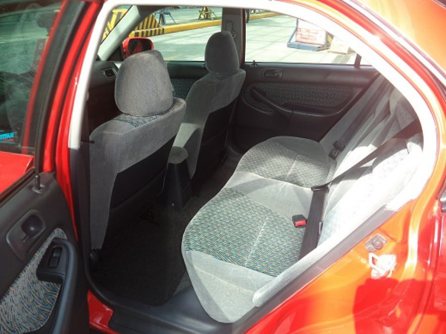 2000 Honda Civic - Interior Rear View