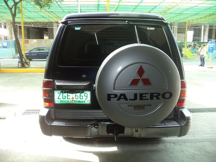 1997 Mitsubishi Pajero - Rear View