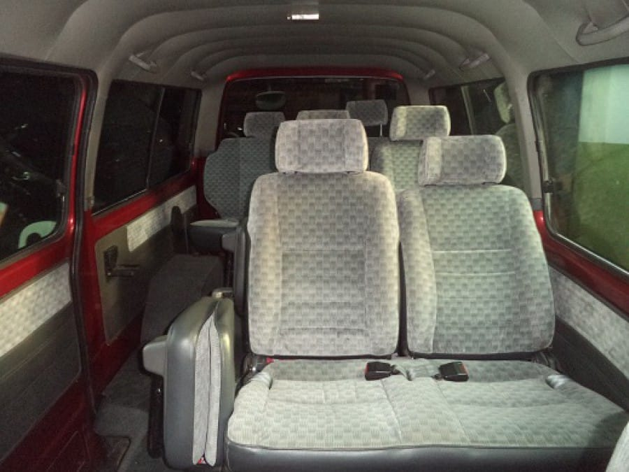 2006 Nissan Urvan - Interior Rear View