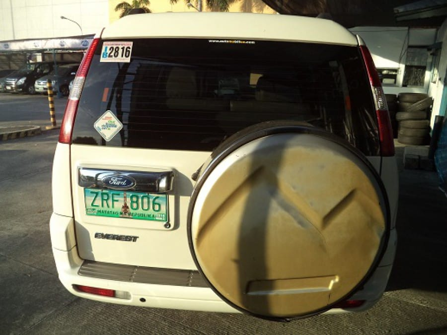2008 Ford Everest - Rear View