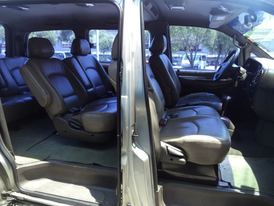 2002 Hyundai Starex - Interior Rear View