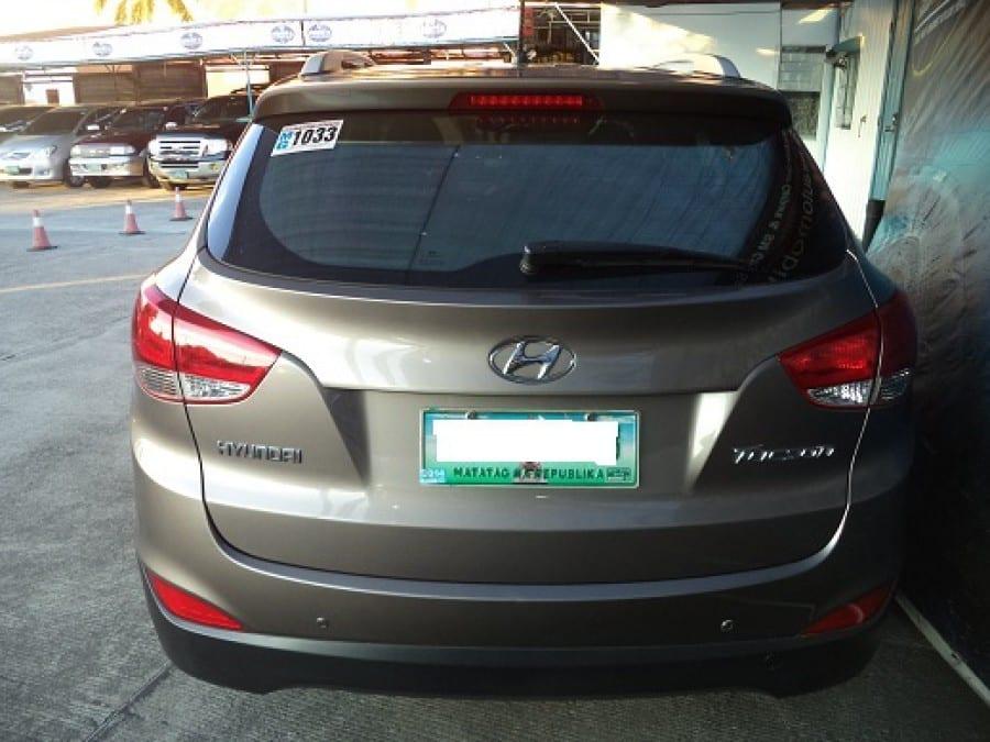 2011 Hyundai Tucson - Rear View