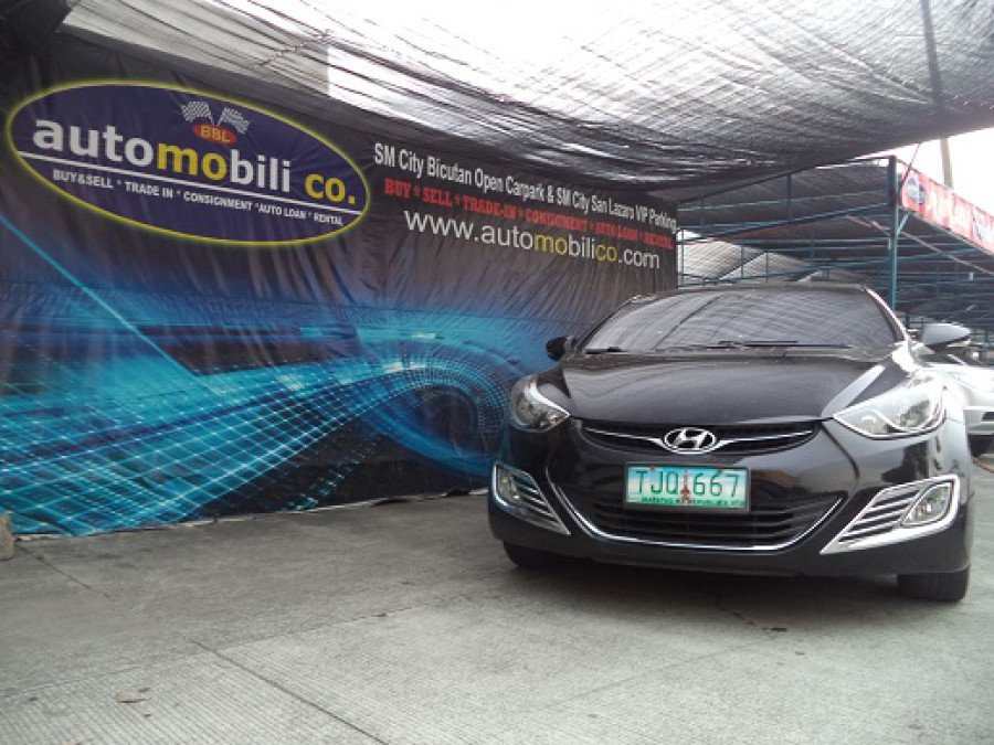 2011 Hyundai Elantra - Front View