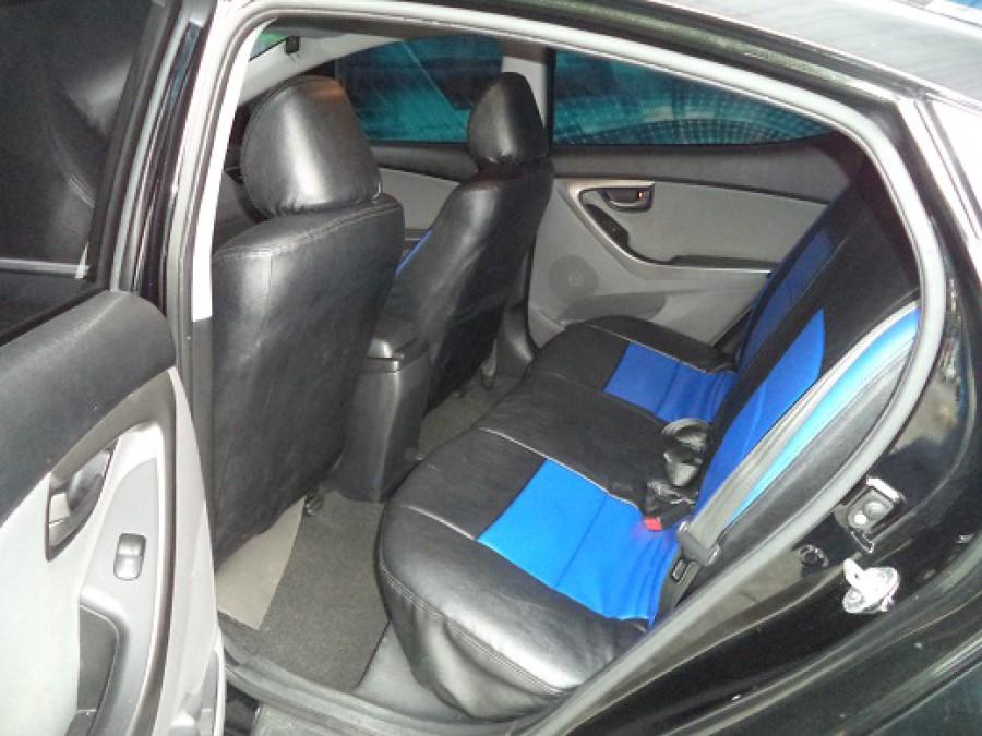 2011 Hyundai Elantra - Interior Rear View
