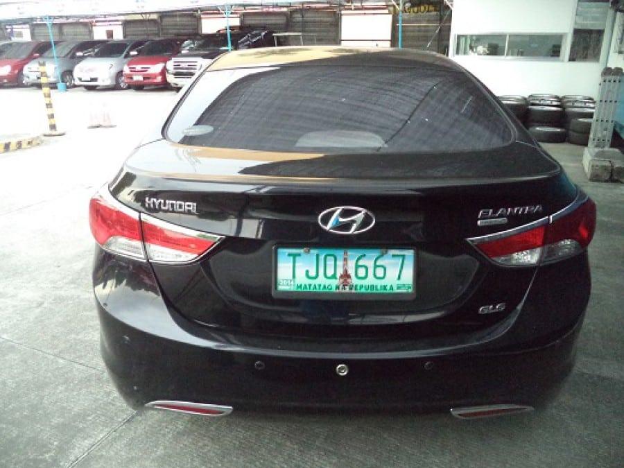 2011 Hyundai Elantra - Rear View
