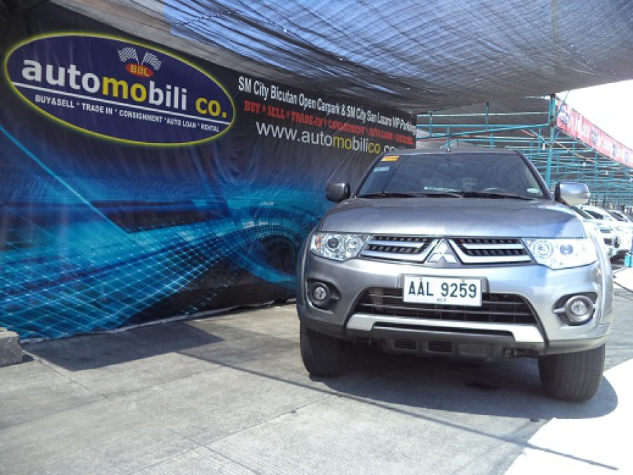 2014 Mitsubishi Montero Sport - Front View