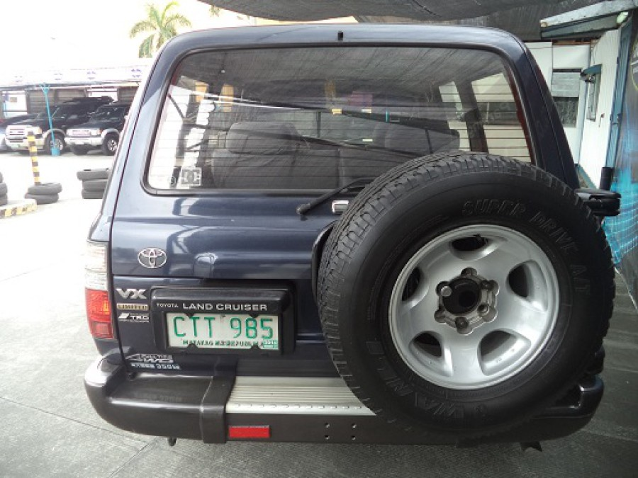 1994 Toyota Land Cruiser - Rear View