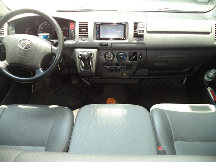 2010 Toyota HiAce - Interior Front View