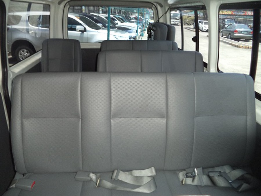 2010 Toyota HiAce - Interior Rear View