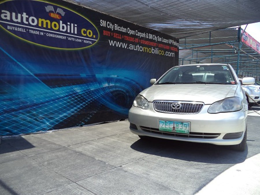 2006 Toyota Altis - Front View