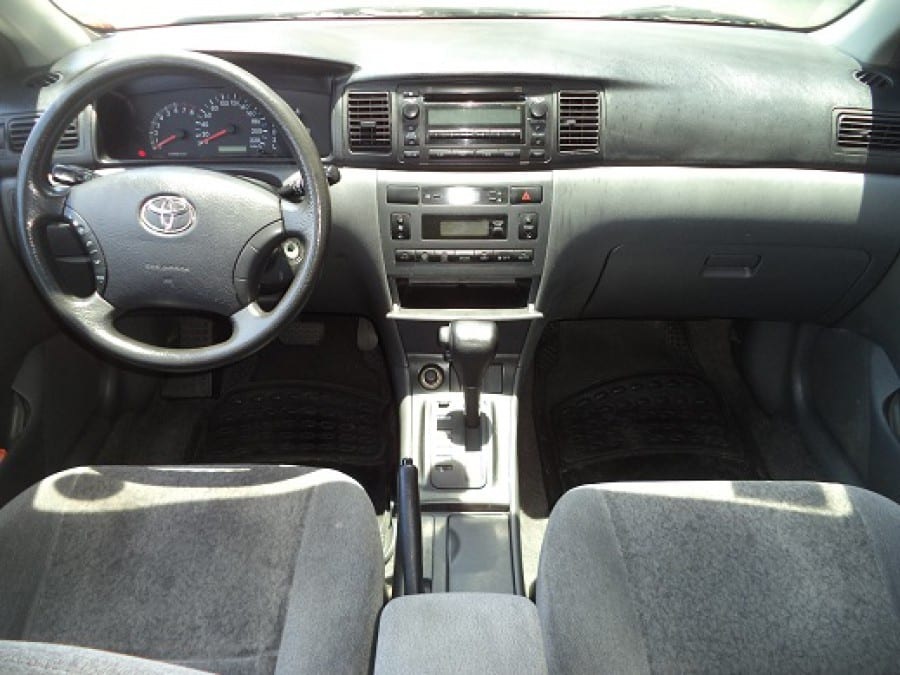 2006 Toyota Altis - Interior Front View