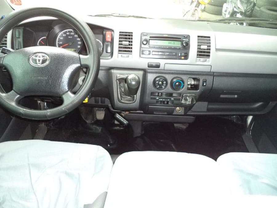 2009 Toyota HiAce - Interior Front View