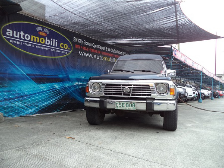 1999 Nissan Patrol - Front View