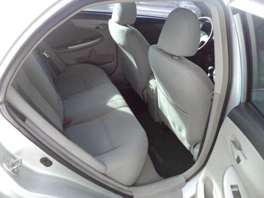 2010 Toyota Altis - Interior Rear View