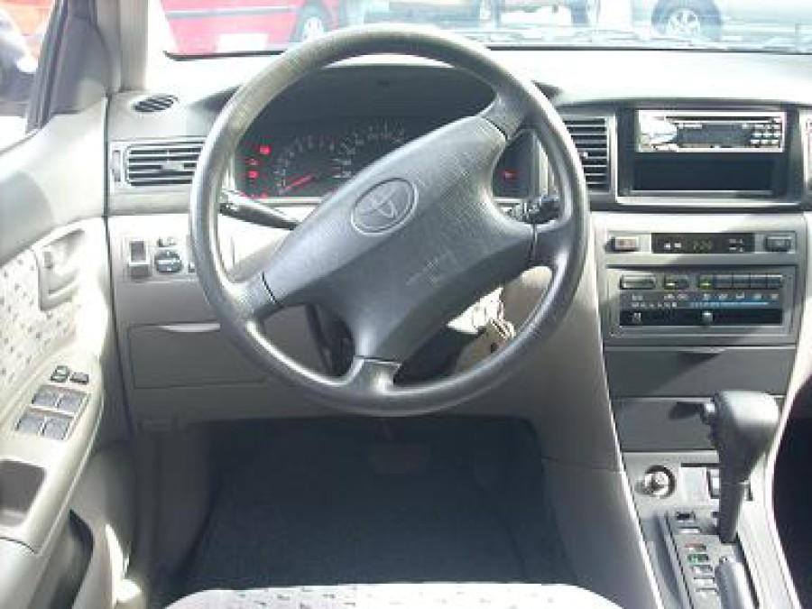 2001 Toyota Corolla Altis E - Interior Front View